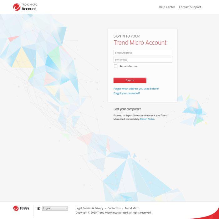 Account.TrendMicro.com
