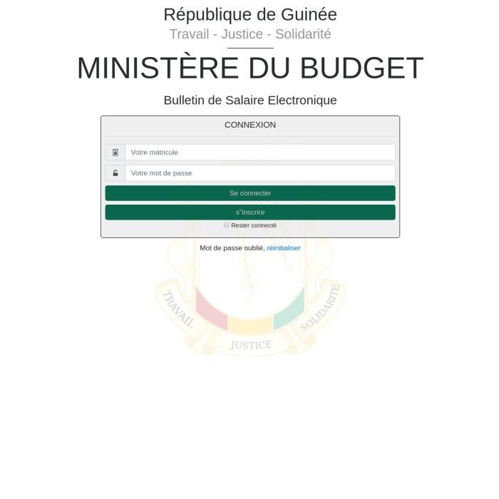 Buse.MBudget.gov.gn
