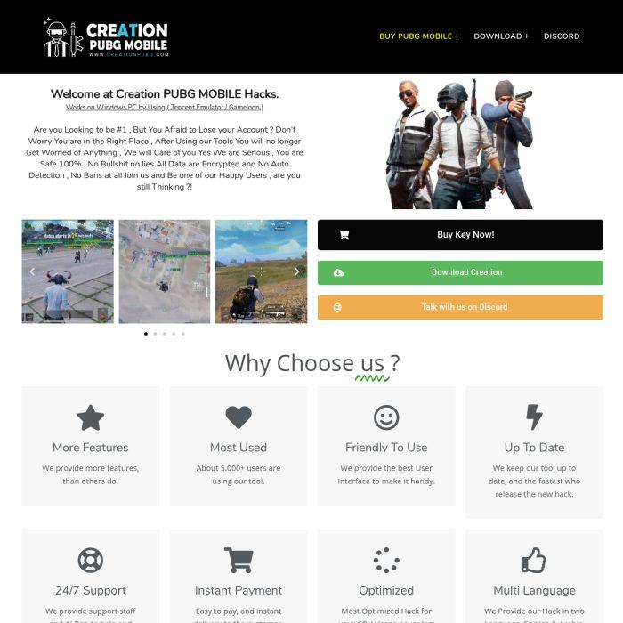 CreationPUBG.com