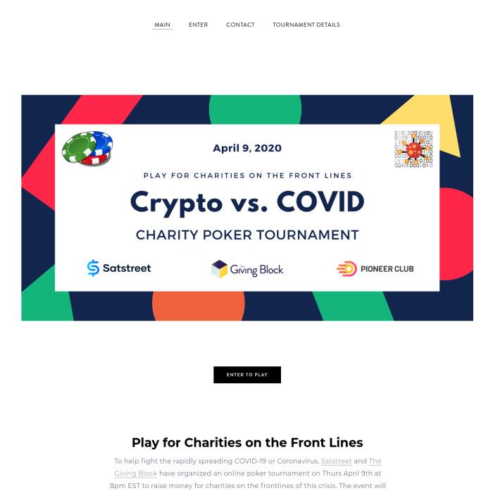CryptoCOVID19.com
