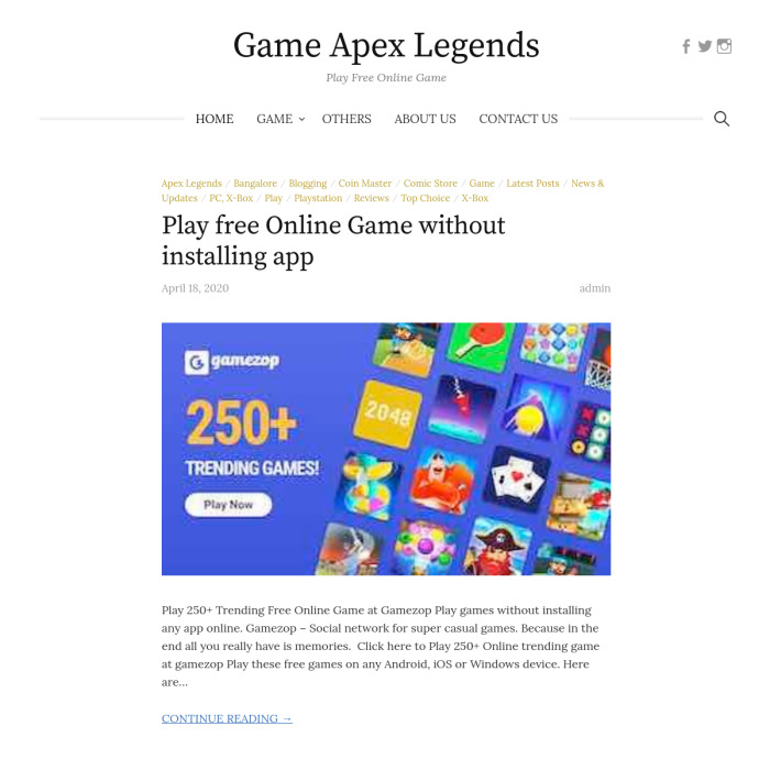 GameApexLegends.com