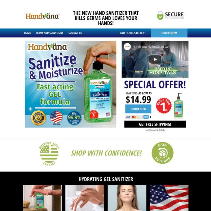 HandvanaGel.com