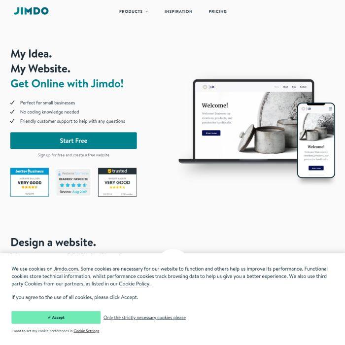 JimdoFree.com