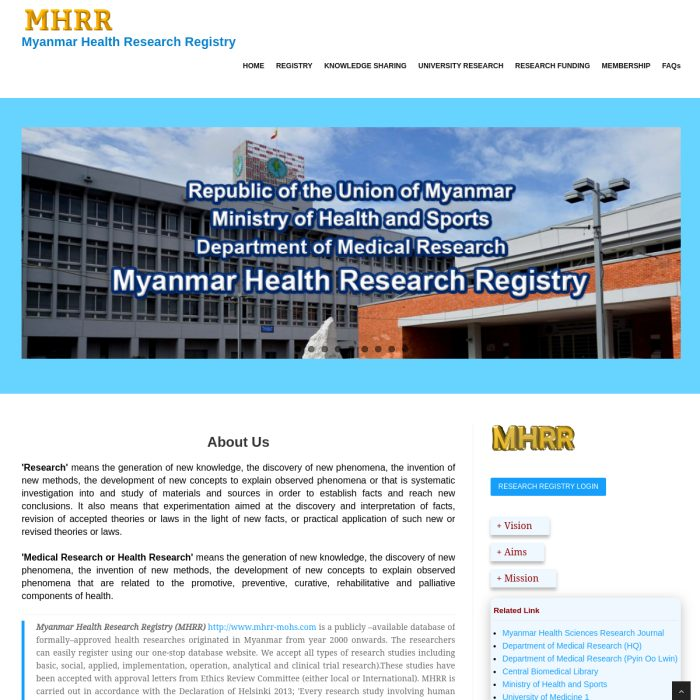 MHRR-MOHS.com