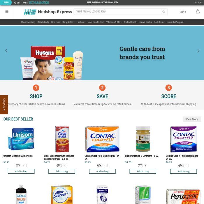 MedshopExpress.com