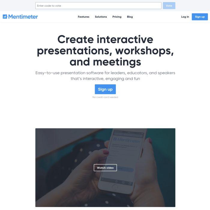 Mentimeter.com