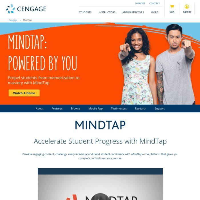 MindTap.Cengage.com