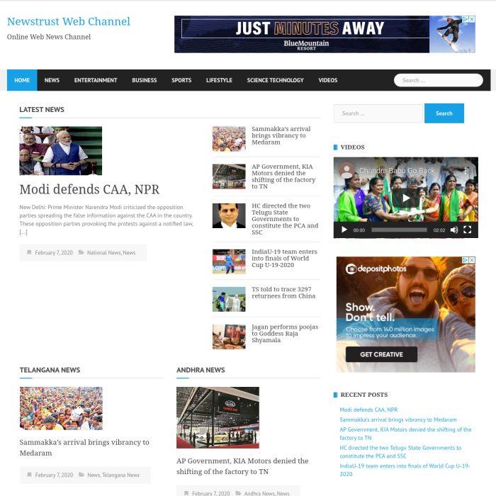 NewstrustWebChannel.com