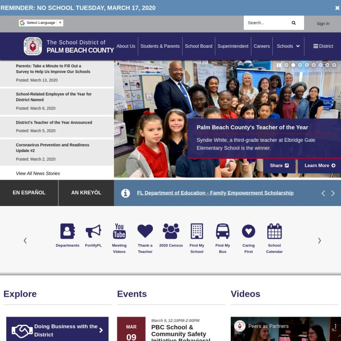 PalmBeachSchools.org