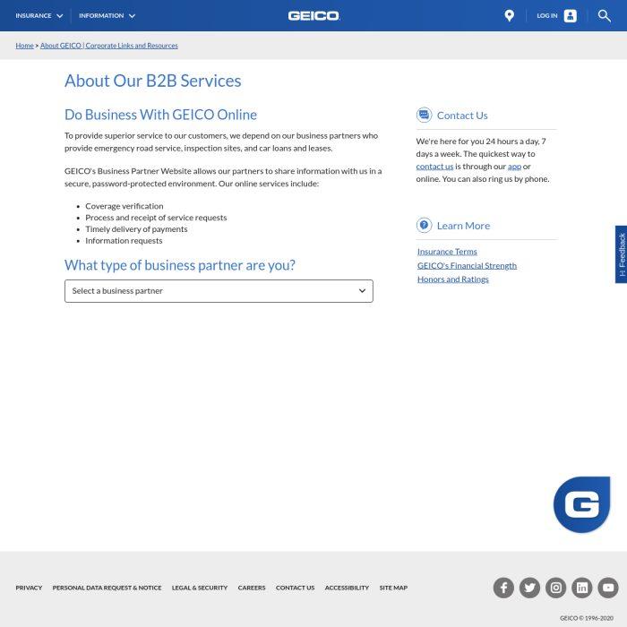 Partners.Geico.com