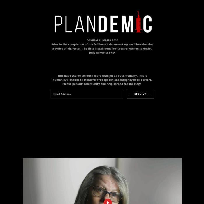 PlandemicMovie.com