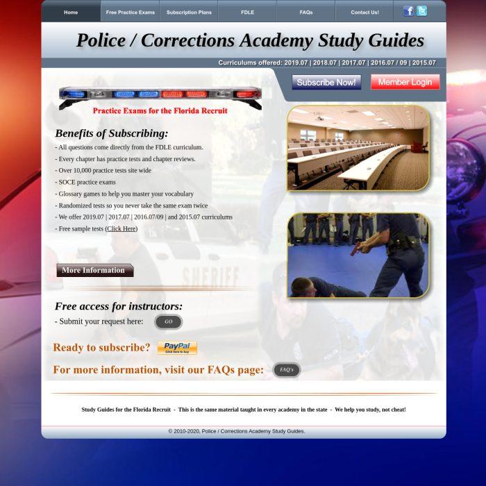 PoliceAcademyStudyGuides.co