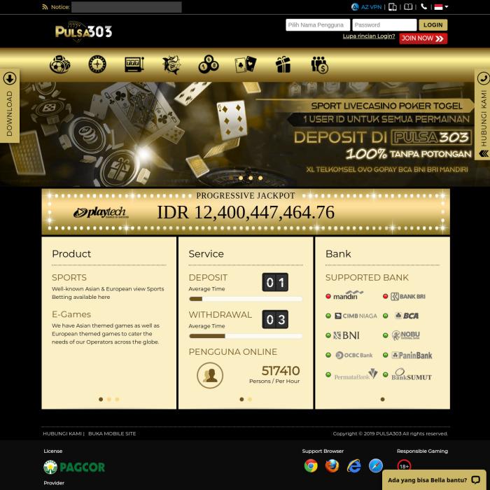 Pulsa303.net