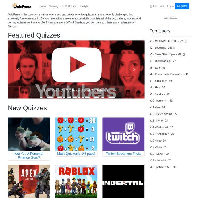 QuizFame.com