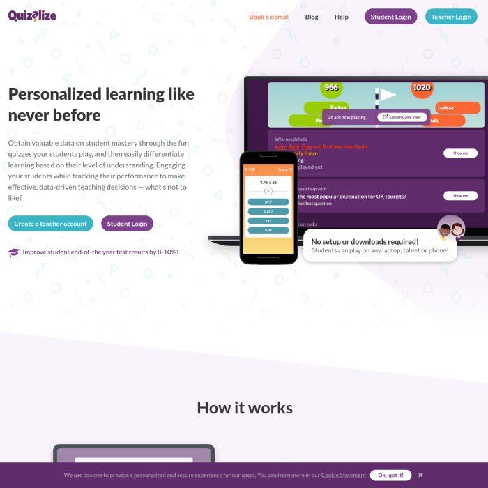 Quizalize.com
