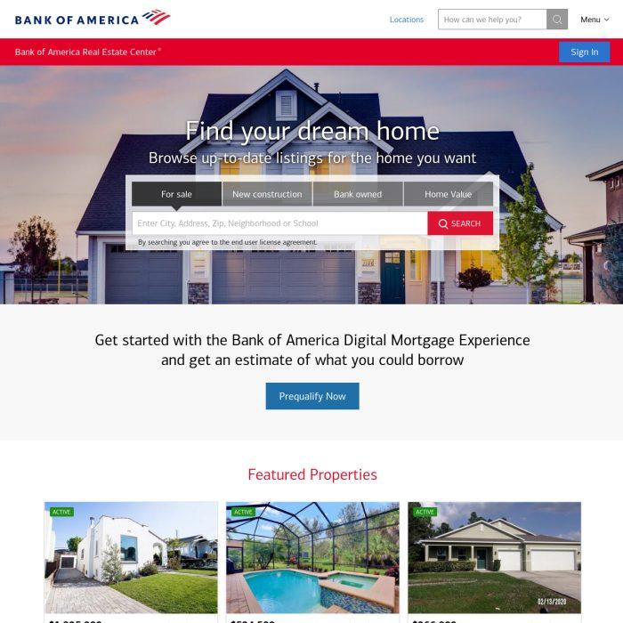 RealEstateCenter.BankofAmerica.com