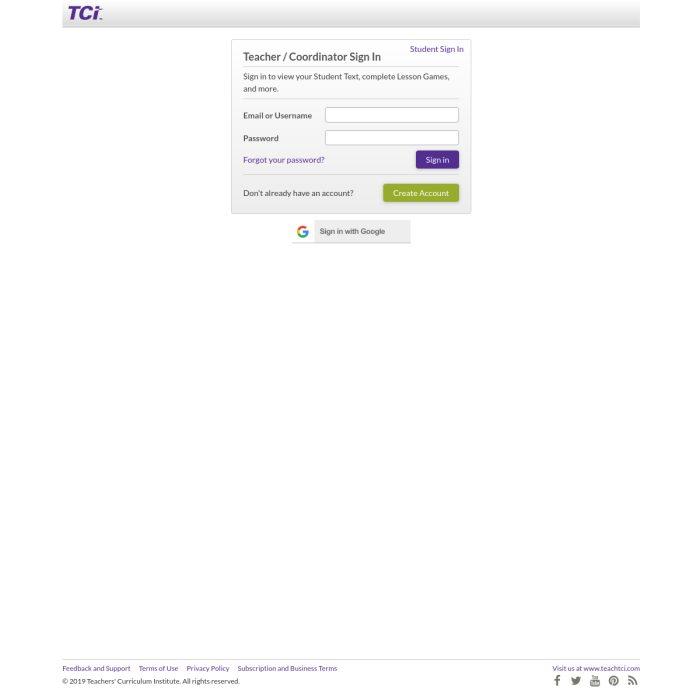 Subscriptions.TeachTCI.com