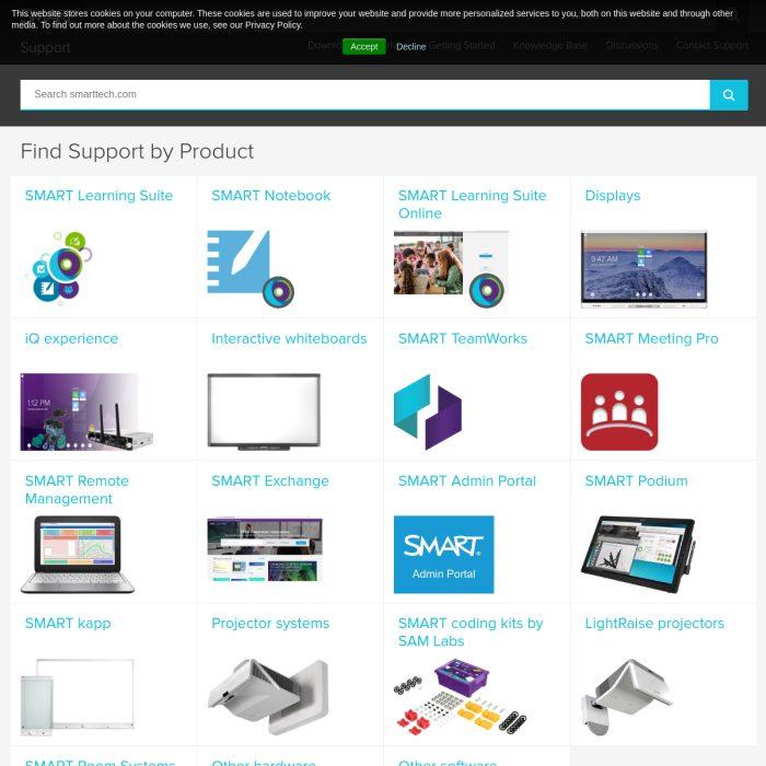 Support.SMARTtech.com