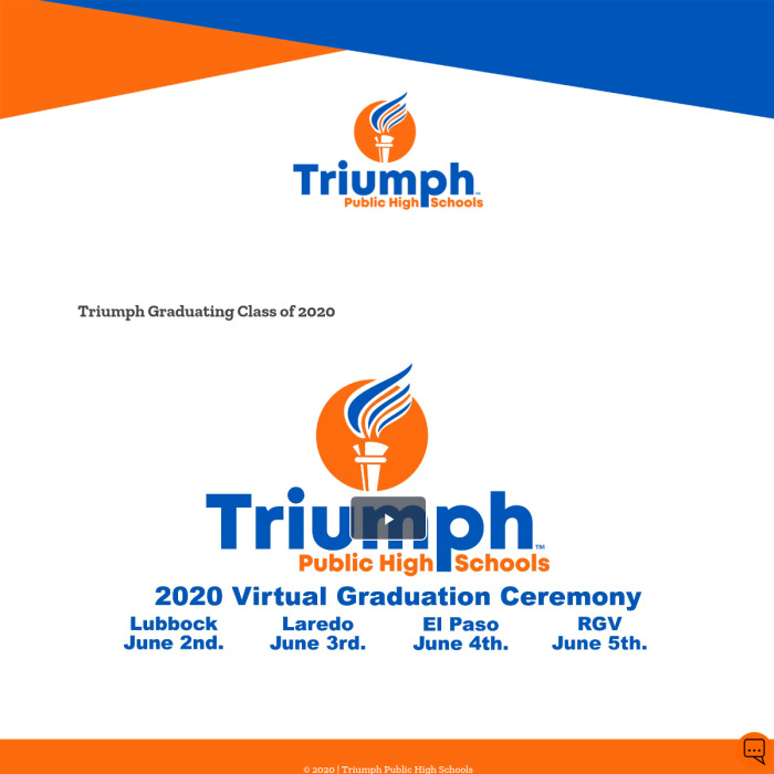 TriumphClassof2020.com