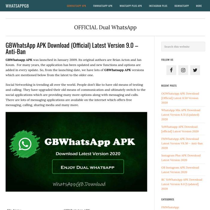 WhatsAppGB.download