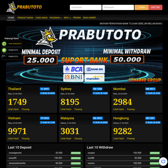 www.PrabuToTo.live