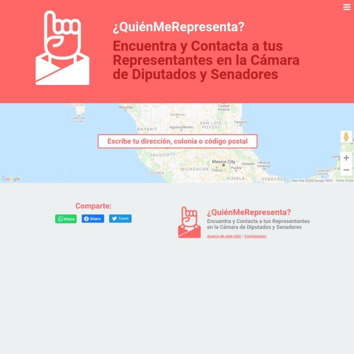 www.QuienMeRepresenta.com