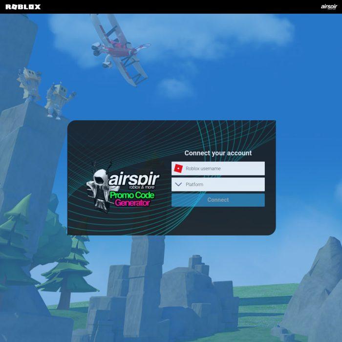 🗄️ AirspirRoblox com Airspir Roblox 2020 Promo Code Generator