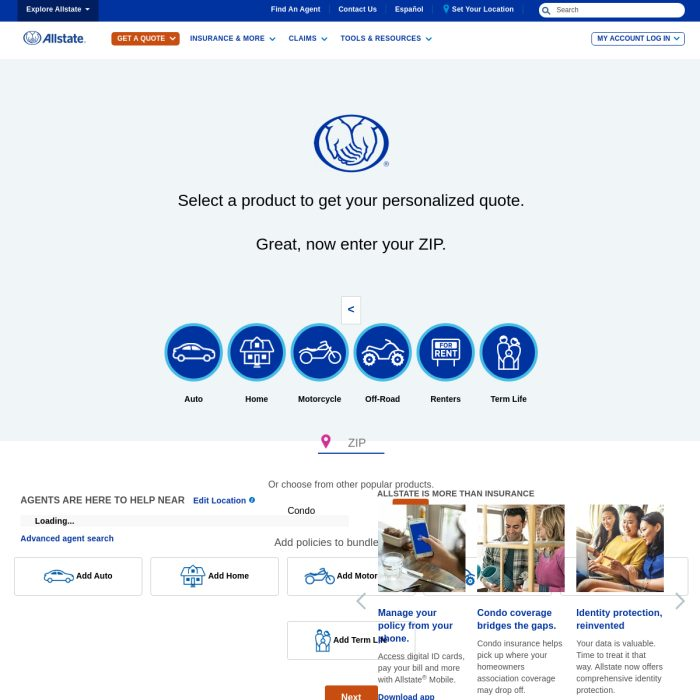 ️ Allstate.com - Insurance Quotes - Account Login | Online ...