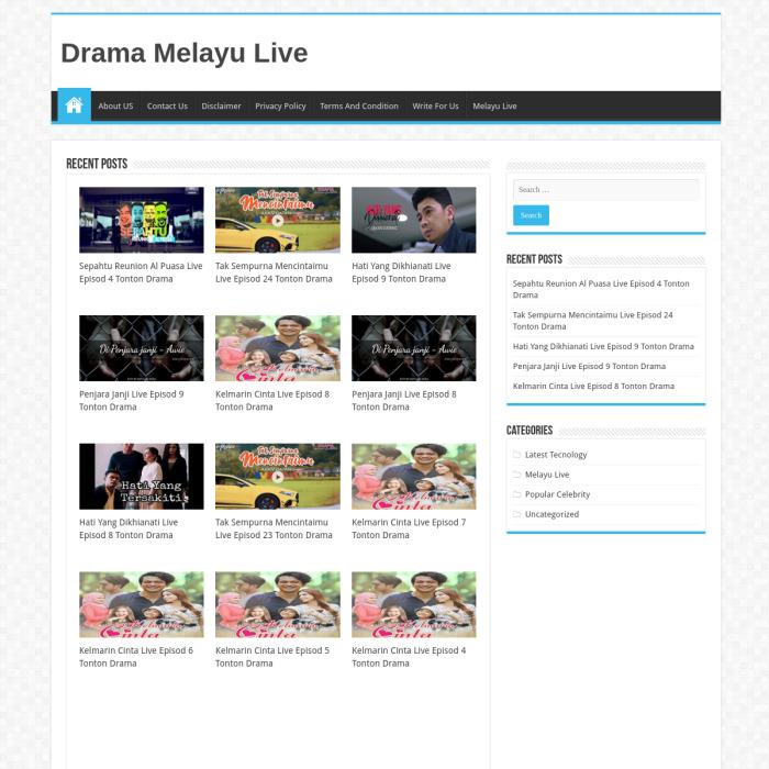 DramaMelayuLive.com