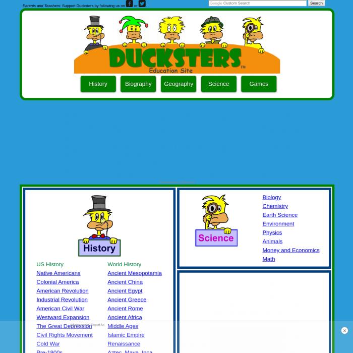 Ducksters.com