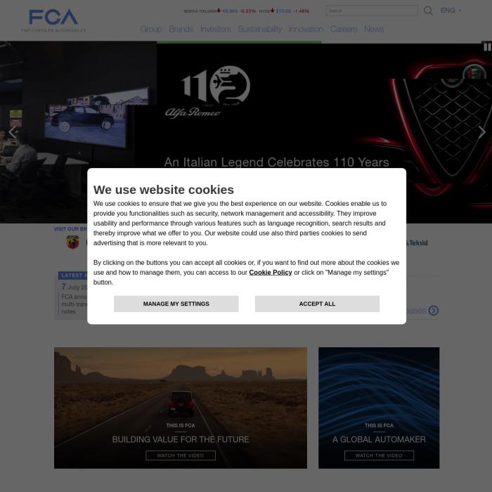 FCAGroup.com