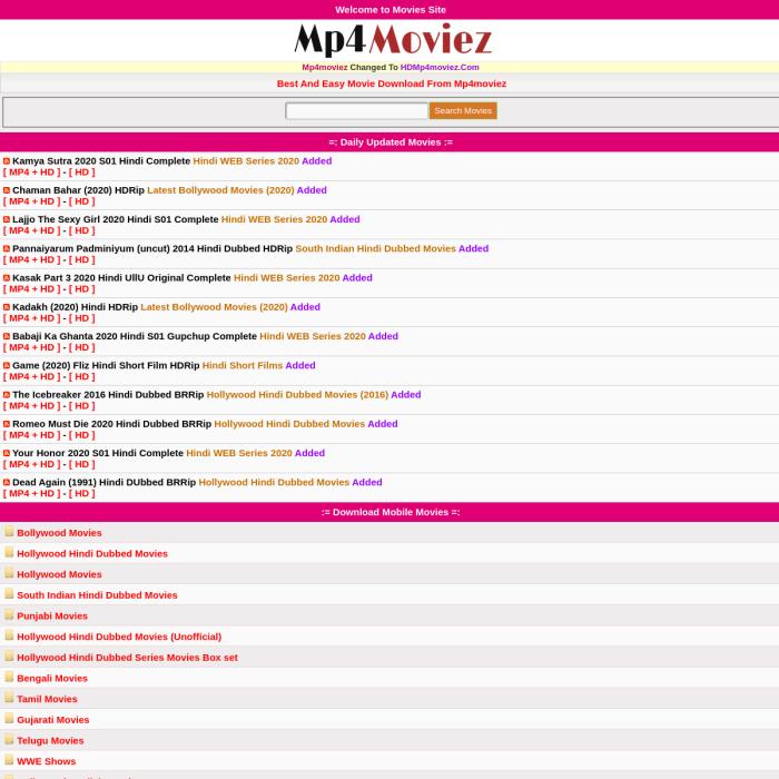 HDMP4Moviez.com