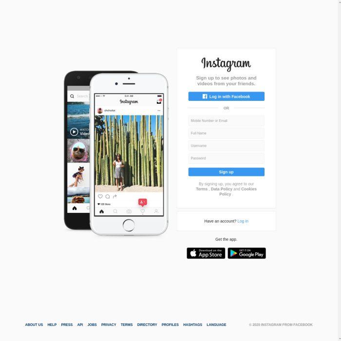 ️ Instagram.com - Create an Account or Login | Profile ...
