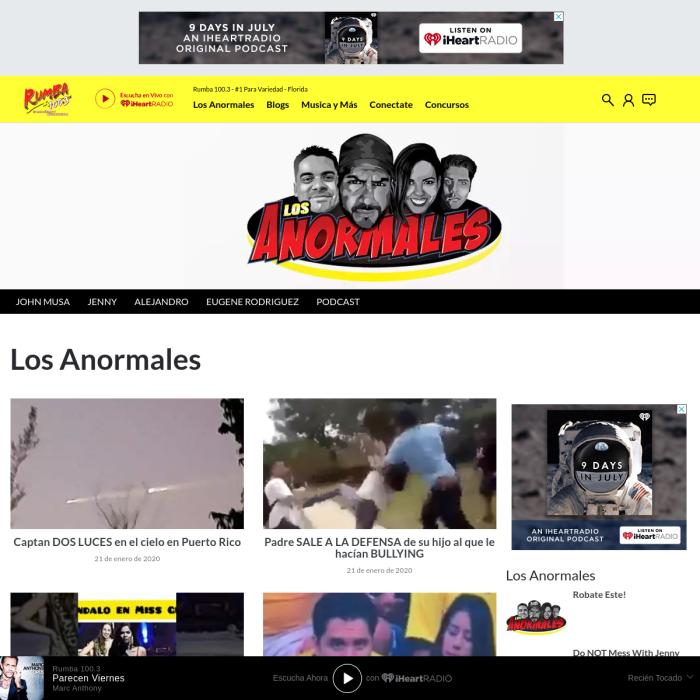 LosAnormales.com