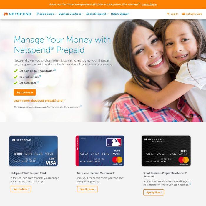 ️ Netspend.com - Account Login Prepaid Debit Cards