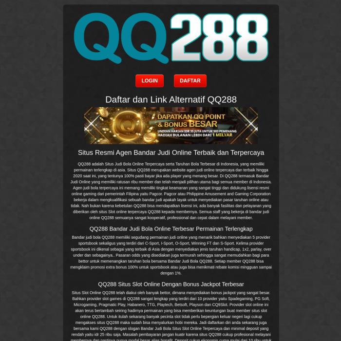 Qq288 Xyz Qq 288 Xyz Qq288 Link Linktree