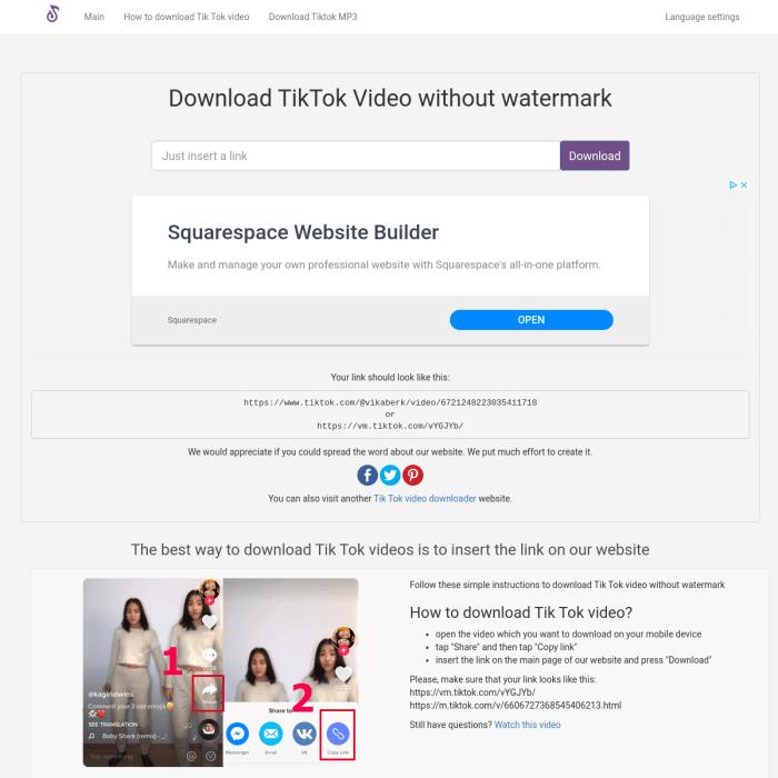 Ssstiktok Com Sss Tiktok Download Tik Tok Video No Watermark