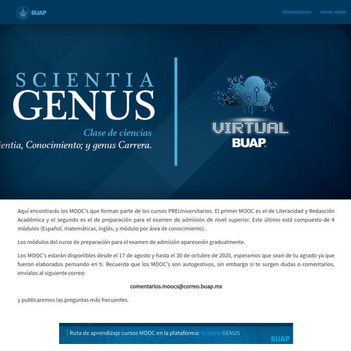 ScientiaGenus.BUAP.mx