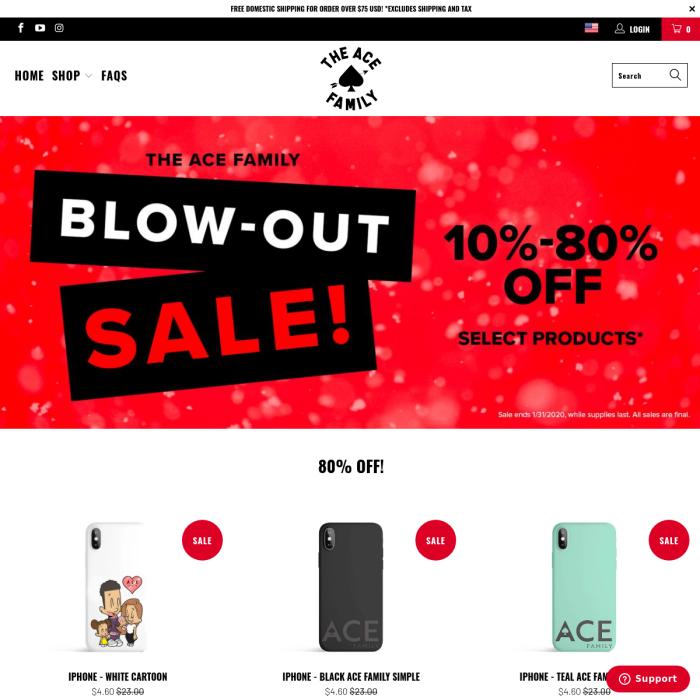 ShopAceFamily.com