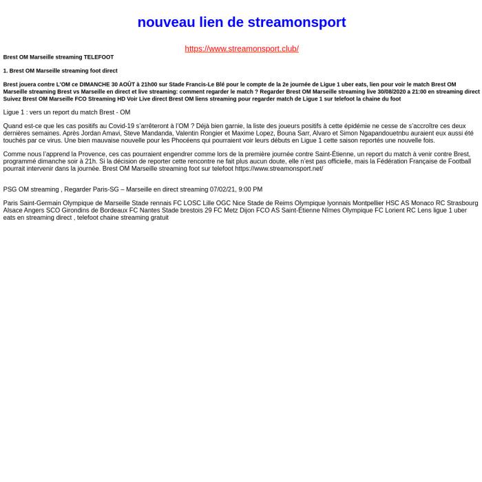StreamOnSport.net