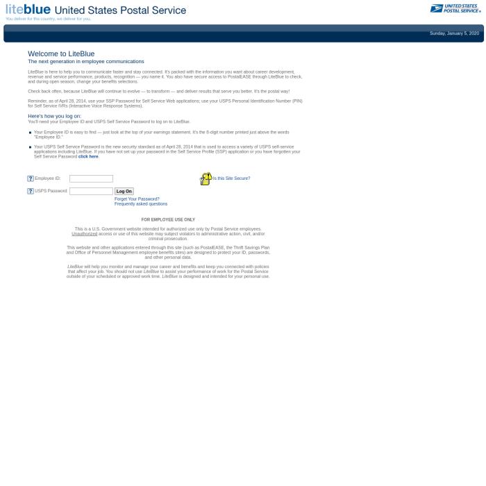 liteblue.usps.gov
