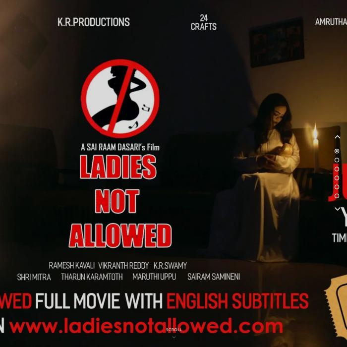 www.LadiesNotAllowed.com